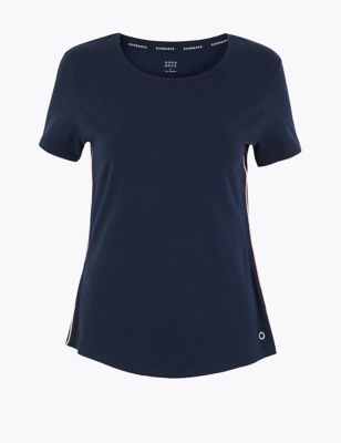 Cotton Short Sleeve Top