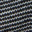 Merinotec Crew Neck Long Sleeve Top - black/grey