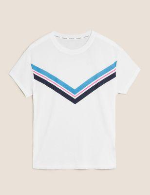 Chevron Crew Neck T-Shirt