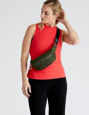 Mesh Back Relaxed Vest Top