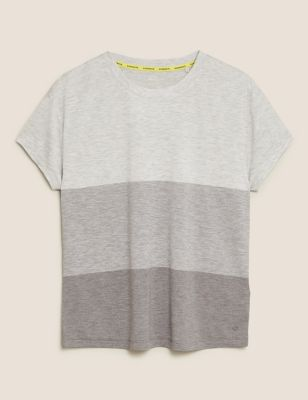 Striped Relaxed Short Sleeve T-Shirt