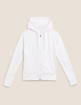 Cotton Zip Up Hoodie