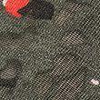 Printed Double Layer Vest Top - khakimix