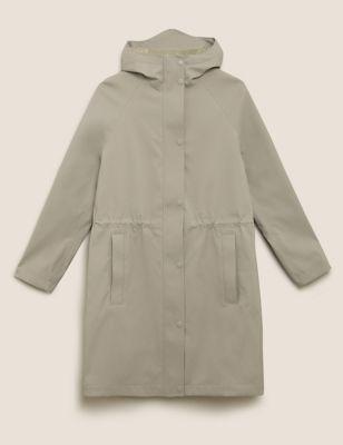 Waterproof Hooded Longline Parka