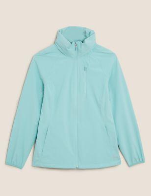 Waterproof Zip Up Hooded Jacket