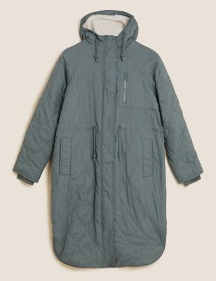 Stormwear™ Quilted Borg Lined Hooded Parka