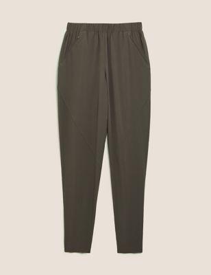 Woven Cuffed 7/8 Walking Trousers