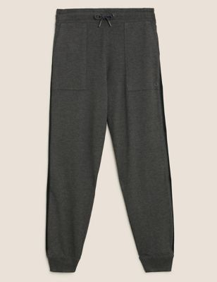 Side Stripe Cuffed Relaxed Joggers