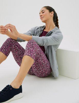 Go Move Printed Cropped Gym Leggings