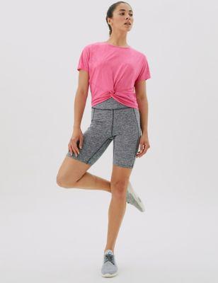 Go Move High Waisted Gym Shorts