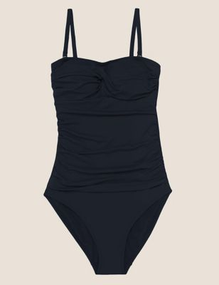 Tummy Control Multiway Bandeau Swimsuit