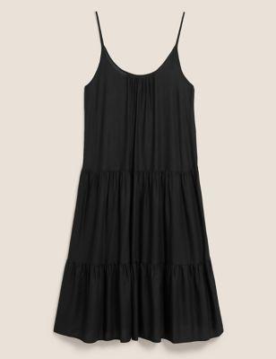 Mini Tiered Beach Dress