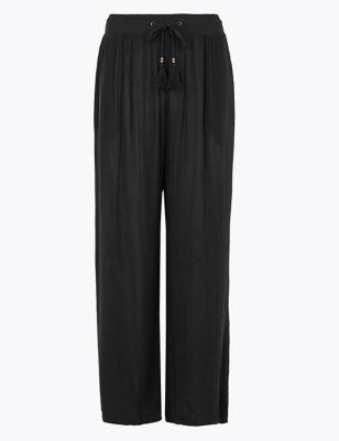 Crinkle Beach Trousers