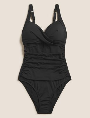 Tummy Control Plunge Swimsuit