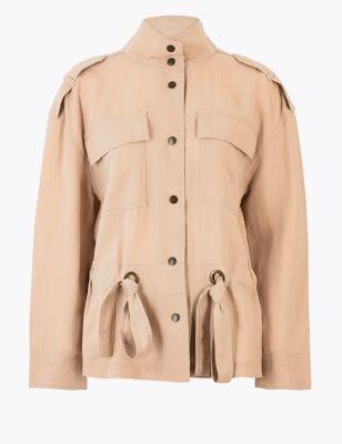 Single Breasted Utility Jacket