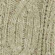 Cotton Textured V-Neck Cropped Cardigan - khaki