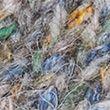 Textured V-Neck Cropped Cardigan - greymix