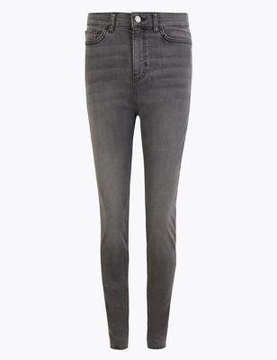 Tencel™ High Waisted Skinny Jeans