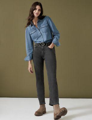 Tencel ™ Rich Straight Leg Jeans