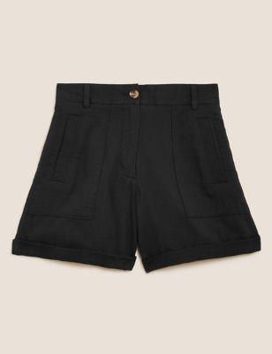 Pure Cotton Utility Shorts