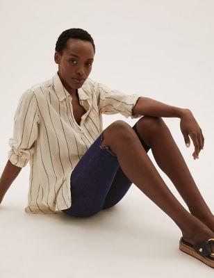 Magic Shaping Denim High Waist Shorts