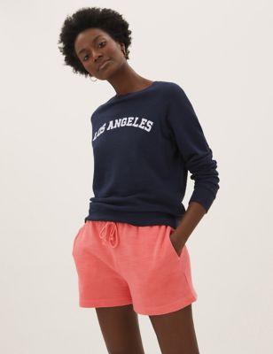 Pure Cotton Jogger Shorts