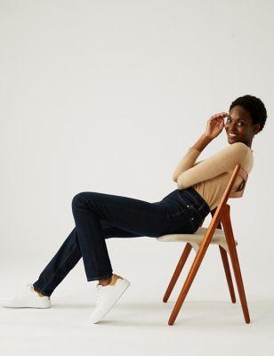 Magic Shaping Straight Leg Jeans