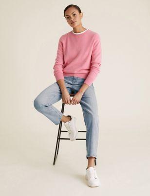 Boyfriend Ankle Grazer Jeans