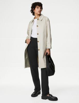 Cotton Straight Leg Joggers