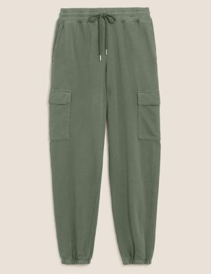 Jersey Utility Tapered Joggers