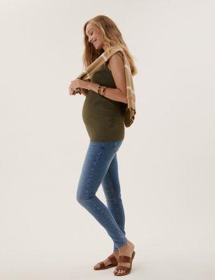Maternity Ivy Premium Over Bump Skinny Jeans