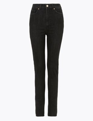 Ivy High Waisted Distressed Skinny Jeans