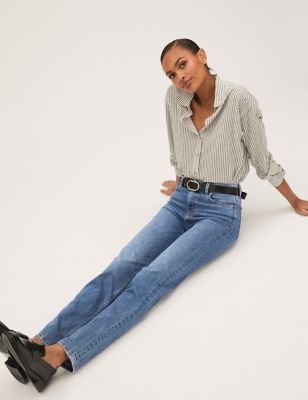Sienna Straight Leg Jeans with Stretch