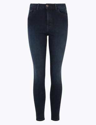 PETITE High Waisted Super Skinny Jeans