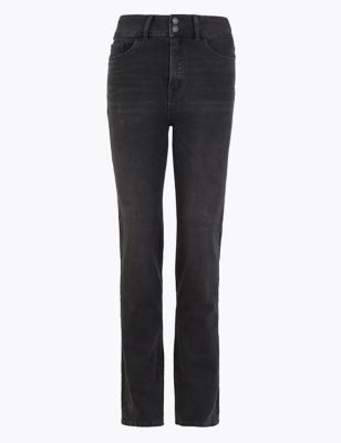 Magic Sculpt High Waisted Straight Leg Jeans