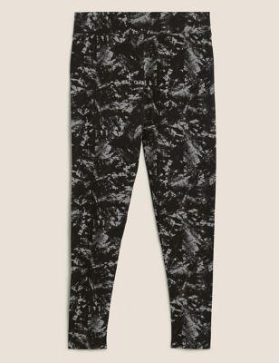 Jersey Tie Dye High Waisted Leggings