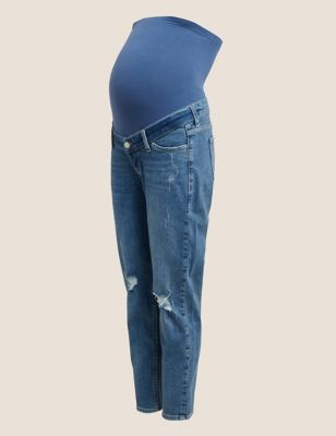 Maternity Mom Tapered Jeans