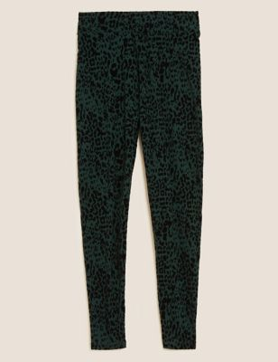 Textured High Waisted Leggings