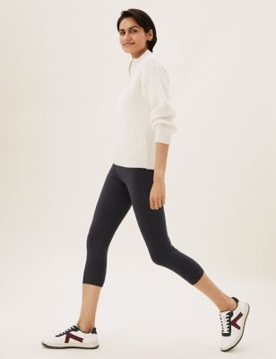 2 Pack High Waisted Cropped Leggings