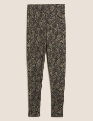 Cotton Thermal Brushed High Waisted Leggings