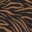 Animal Print High Waisted Leggings - brownmix