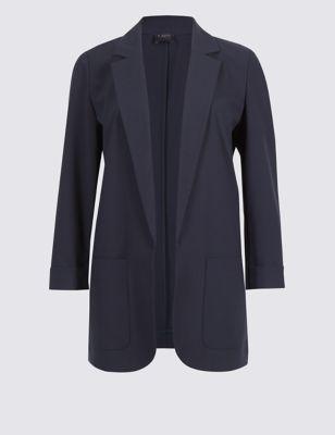 Tailored Patch Pocket Blazer