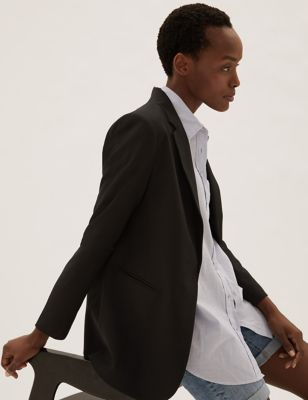 Relaxed Single Breasted Blazer