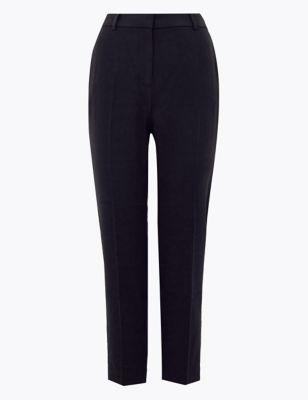 PETITE Slim Fit Ankle Grazer Trousers