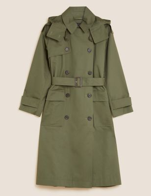 Pure Cotton Stormwear™ Belted Trench Coat