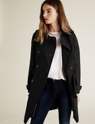 PETITE Double Breasted Coat