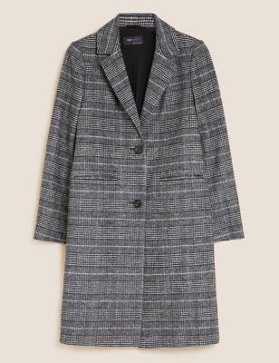 The Checked City Coat