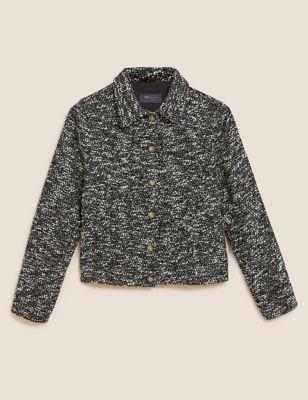Tweed Trucker Jacket