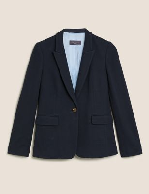 Jersey Slim Textured Blazer