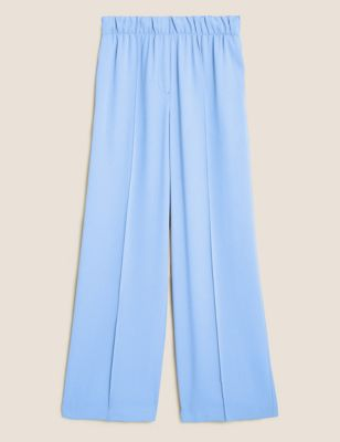 Wide Leg Relaxed Trousers
